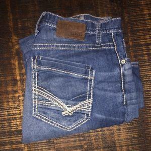 Men's Buckle Jeans- Derek